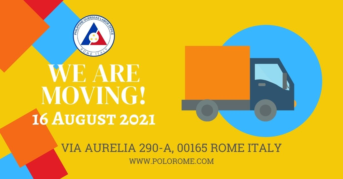 POLO Advisory No. 10 – Transfer of POLO Rome Operations