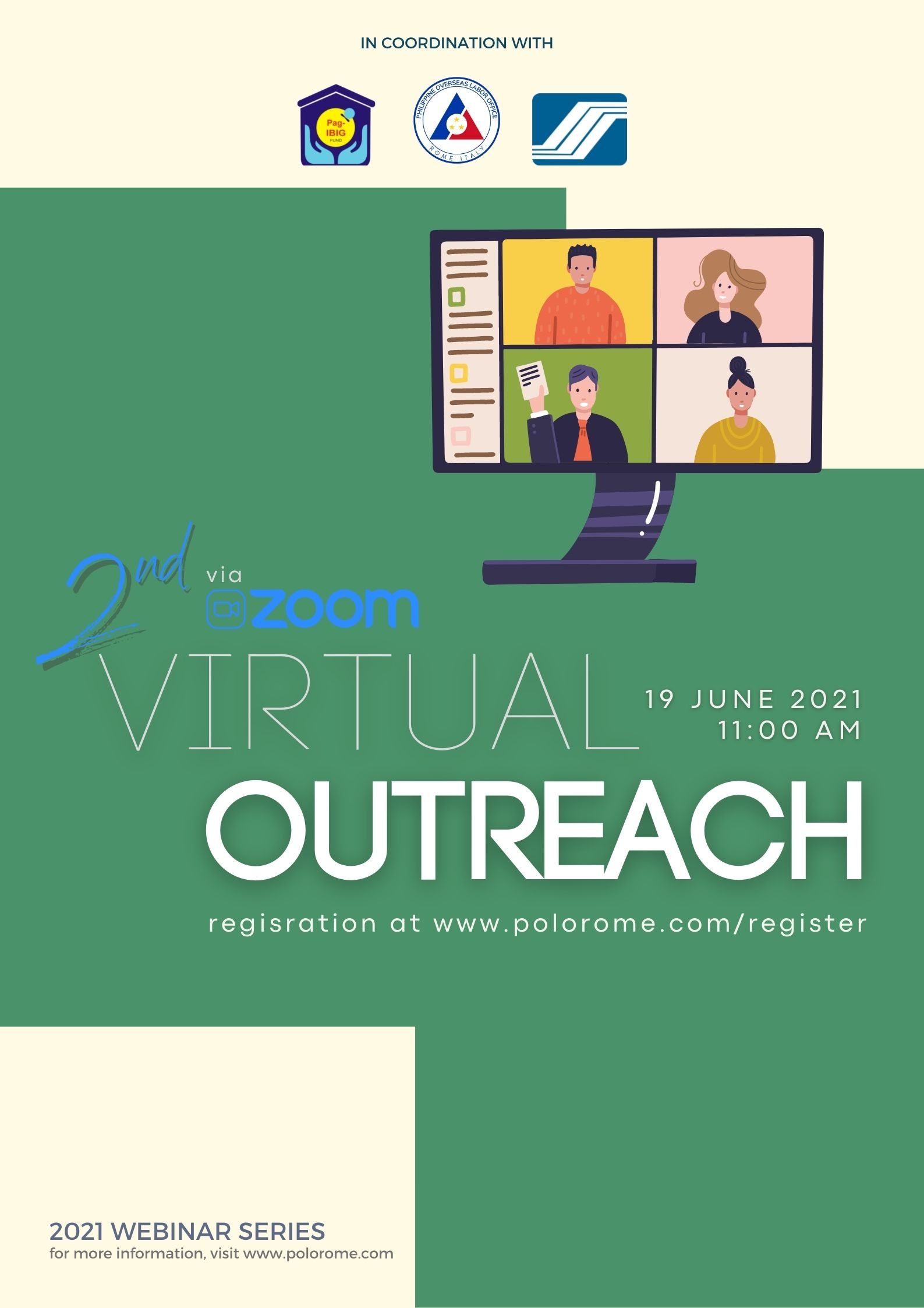 Webinar Series – 2nd Virtual Outreach with POLO, SSS and Pag-IBIG